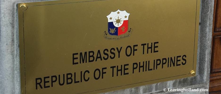 Embassy philippines Den hague