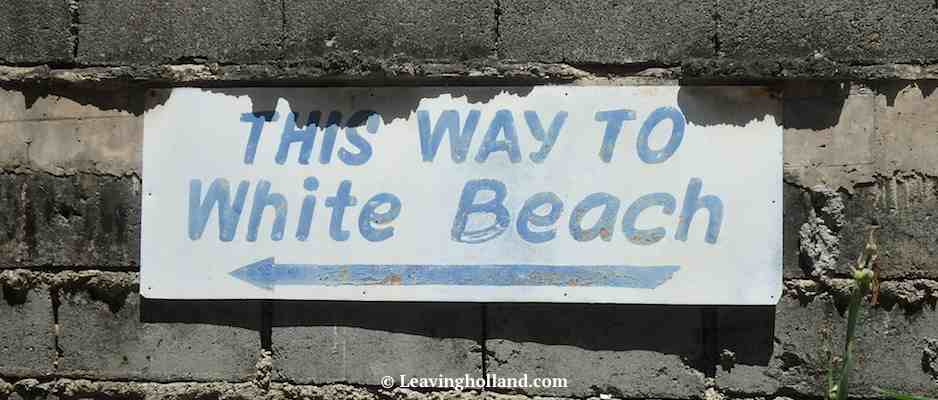this way to white beach