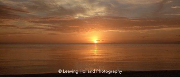 Sunset Siquijor, Bohol Sea