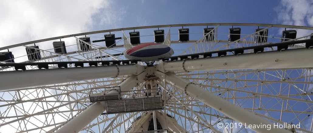 Cancun ferris wheel, rueda de Cancun, what to do in Cancun, overlooking hotel zone