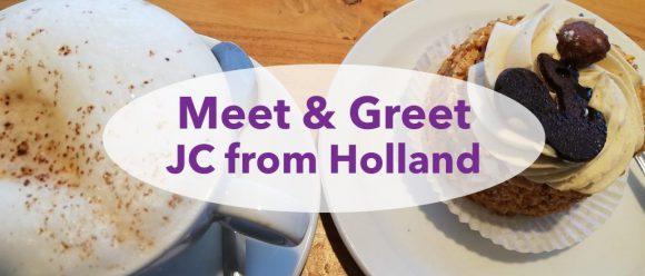 Meet&Greet, JC from Holland, Jeanette Slagt, Speaker, Nomad, Lifestyle, story teller, guest speaker, Influencer, teambuilder,, inspiring