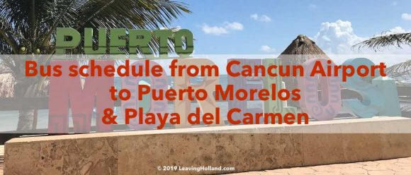 bus schedule to Playa del Carmen