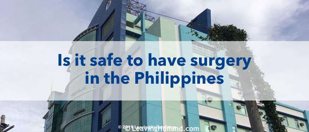surgery Philippines safe today