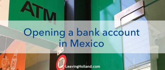 opening bank account Mexico