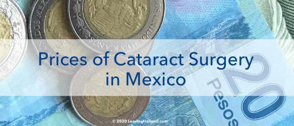 price cataract surgery