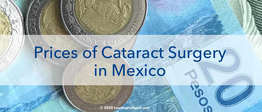 price cataract surgery
