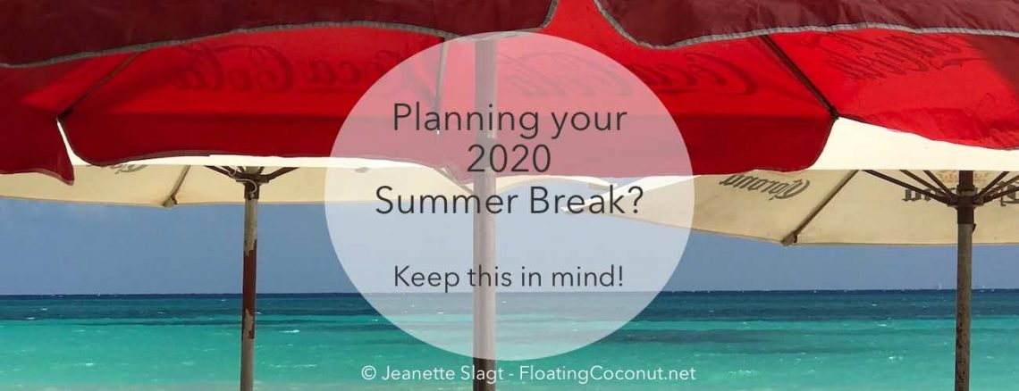 summer vacation 2020 tips