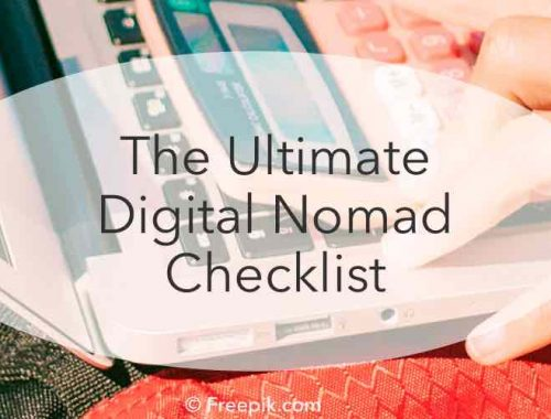 Ultimate digital nomad checklist