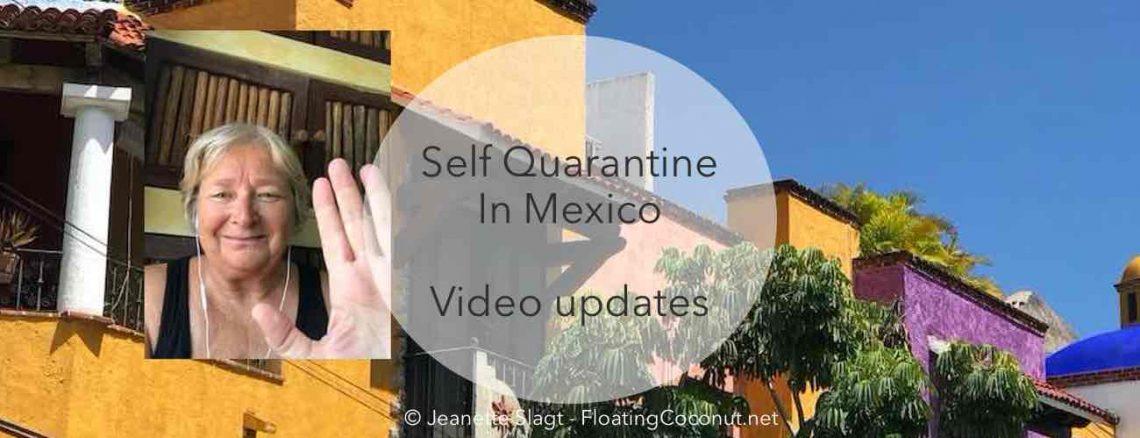 self quarantine in Mexico