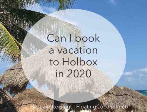 Holbox summer vacation 2020