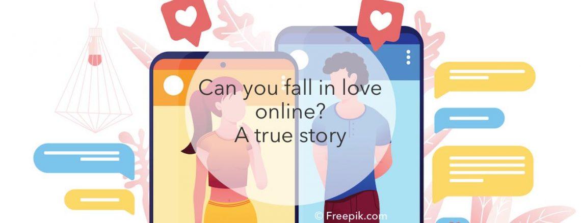 falling in love online true story