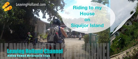 Riding Philippines, motor road trip, Siquijor