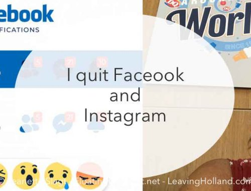 quit Facebook and Instagram