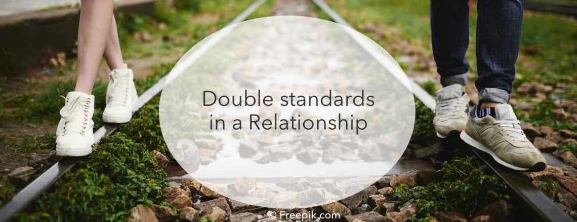 relationships double standards, he can do what he want