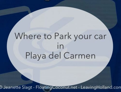 park the car in Playa del Carmen