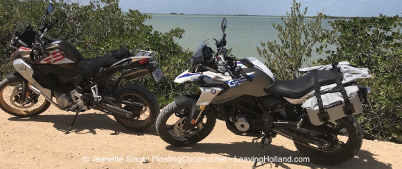 BMW G310GS, unpaved experience
